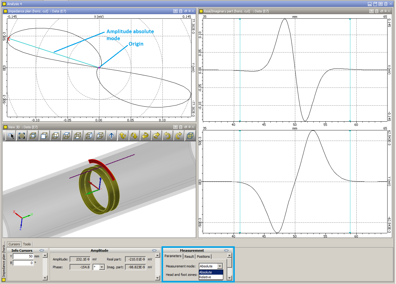 Civa Tips Datatool System 3 Wiring Diagram Absolute Measurement Mode